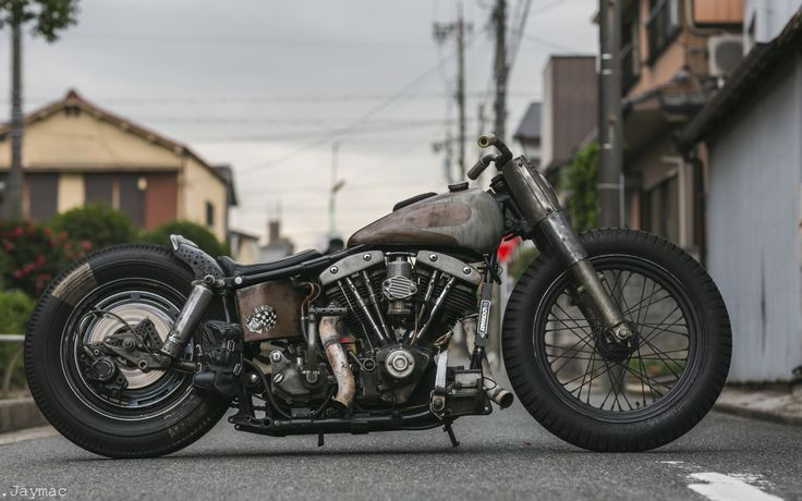 Bobber Inspiration - Shovelhead | Bobbers and Custom Motorcycles | jaymacphotography September 2016