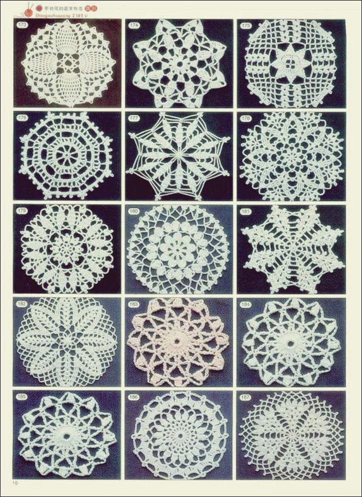 Hakeln Und Stricken Motive Ideen Free Knitting Hakelzierdeckchen Zierdeckchenmuster Hakelmotiv