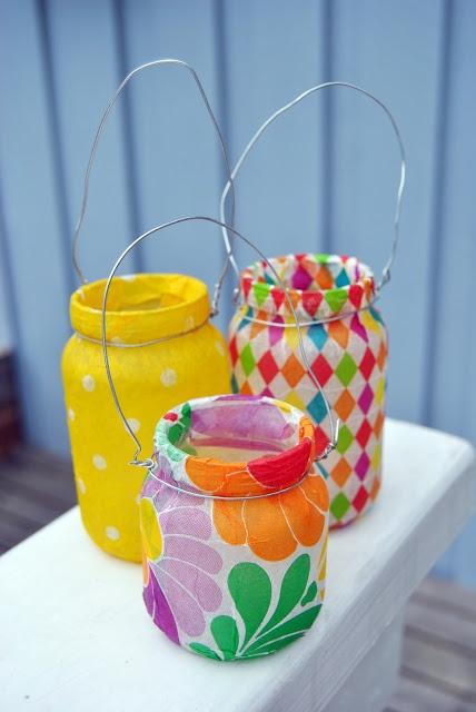 * Potes decorados - Blog Pitacos e Achados -  Acesse…