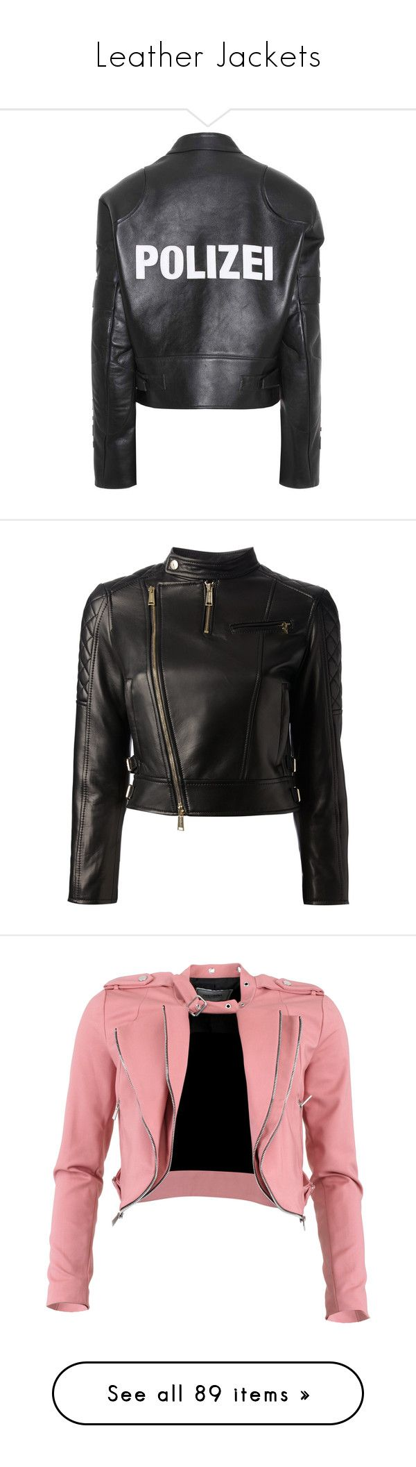 """""""Leather Jackets"""" by vanilla-cupcakee ❤ liked on Polyvore featuring outerwear, jackets, vetements, coats, leather jacket, black, 100 leather jacket, genuine leather jackets, leather jackets and real leather jackets"""