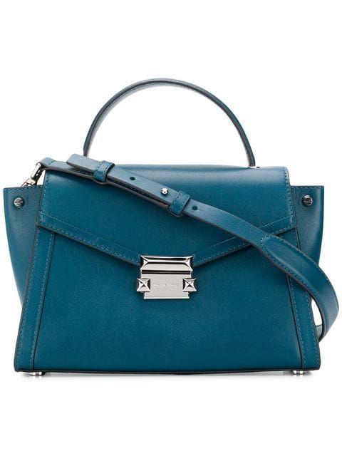 f138da8e80b14a Shop Michael Michael Kors Whitney medium satchel | Wishlist - Bags ...