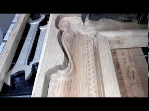Декоративные резные рамы для зеркал и рамы для картин - 3D фрезеровка рам - 3D модели декора - резьба по дереву