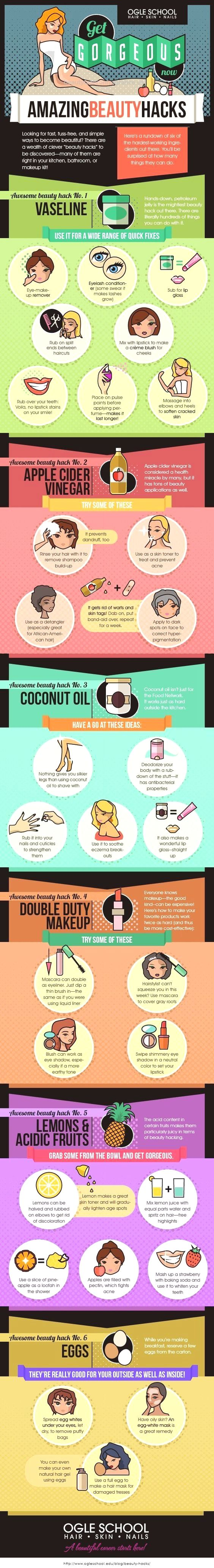 10 Amazing DIY Beauty Infographics to Use Before the Wedding – MODwedding  Unconventional Beauty Secrets. The Ogle School breaks down some of the most useful beauty hacks that you can access right in your home.:  http://www.beautyfashionfragrance.us/2017/05/25/10-amazing-diy-beauty-infographics-to-use-before-the-wedding-modwedding/