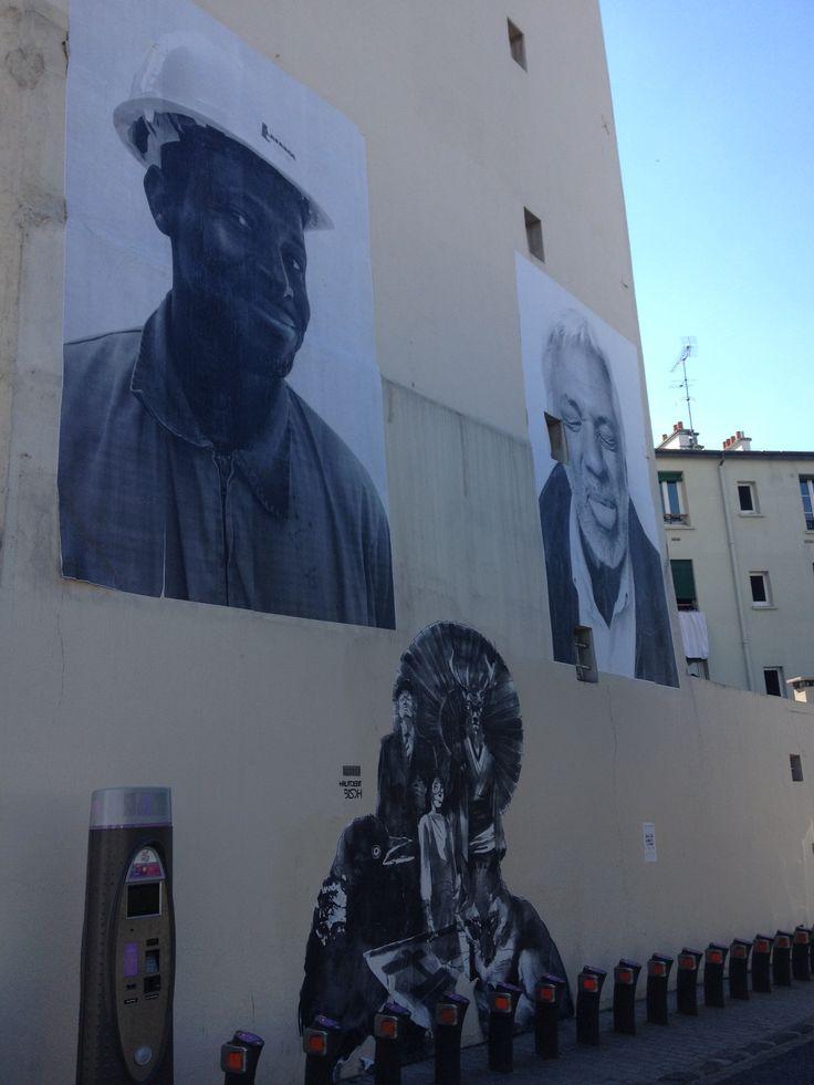 Street art-canal de l'Ourcq-mairie de Pantin