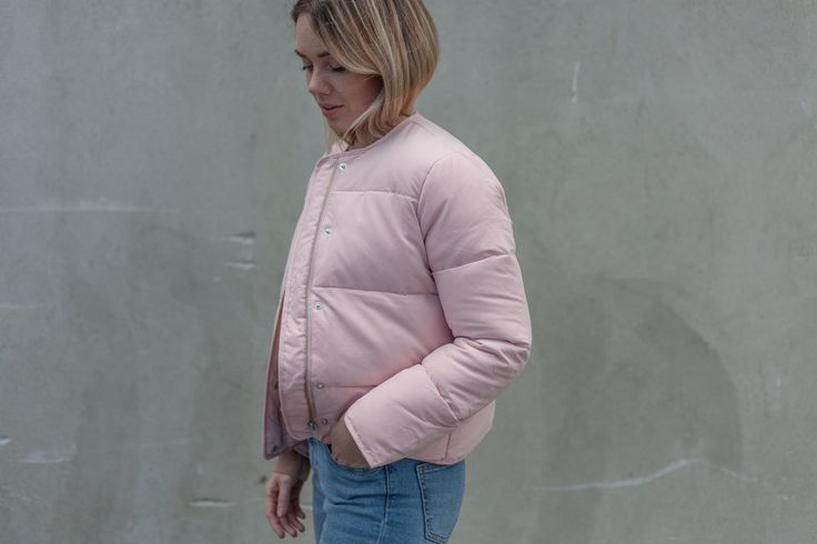 NYHET Dean Jacket Silver Pink - Samsøe & Samsøe