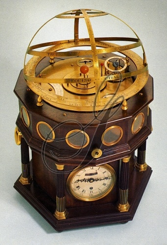 ORRERY, 1791.   Orrery made by James Giles of London, England, 1791.
