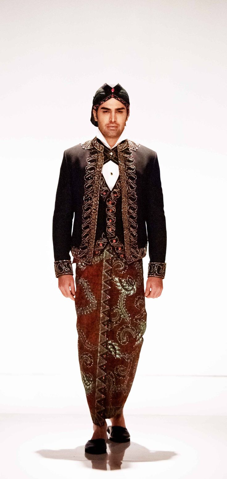 Beskap a Traditional Javanese Wedding Outfit for Man