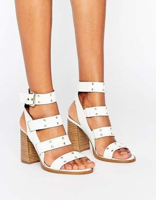 a531c9c2f25 Shop for Asos TRIUMPHANT Leather Studded Sandals on ShopStyle.com ...