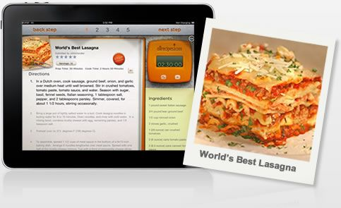 The New Allrecipes iPad App