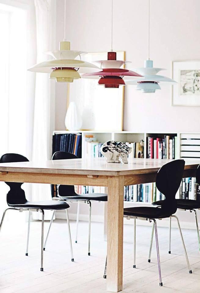 Via Restyle   Arne Jacobsen Chairs   Poul Henningsen Lamp