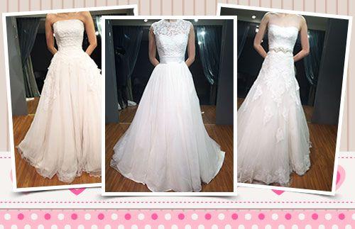Yuk, tampil cantik dan mempesona di hari pernikahan Anda dengan berbagai model baju pernikahan ala Korea HANYA Rp.2.500.000 #panoramagroup