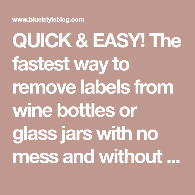 {five Minute Friday} The Easiest Way To Remove Wine Bottle
