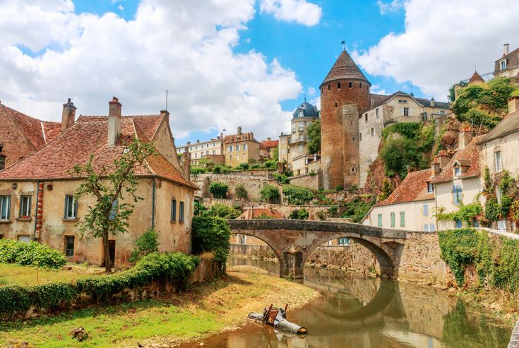 Semur en Auxois, Burgundy, France puzzle in Bridges jigsaw puzzles on TheJigsawPuzzles.com. Play full screen, enjoy Puzzle of the Day and thousands more.