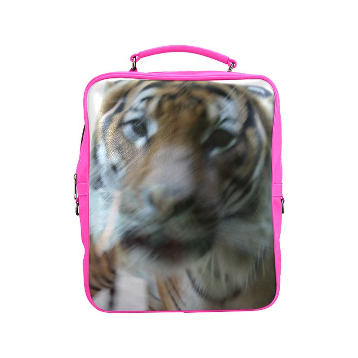 Face of Tiger Square Backpack (Model1618)