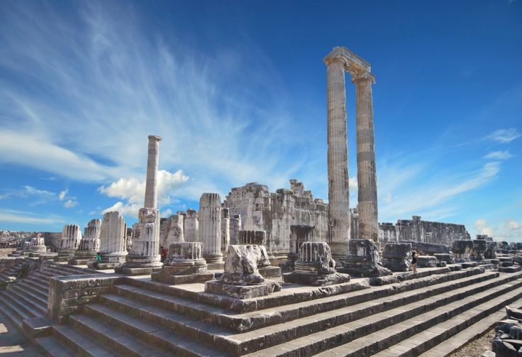 The Temple of Apollo, Didim, Turkey