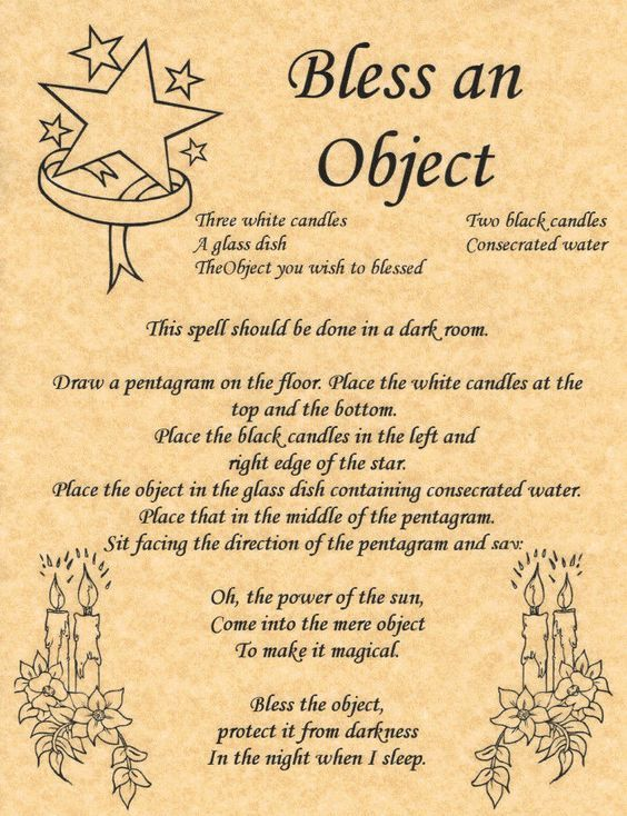 Bless an Object                                                                                                                                                                                 More