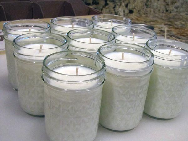 Make your own 50-hour candles for less than 2 dollars each - great article