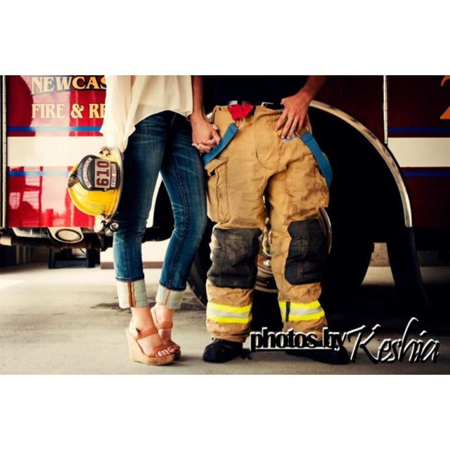 Firefighter Engagement Pictures   !!!!!YES!!!!! @Jaymi Hainlen Hainlen Hainlen Firestone