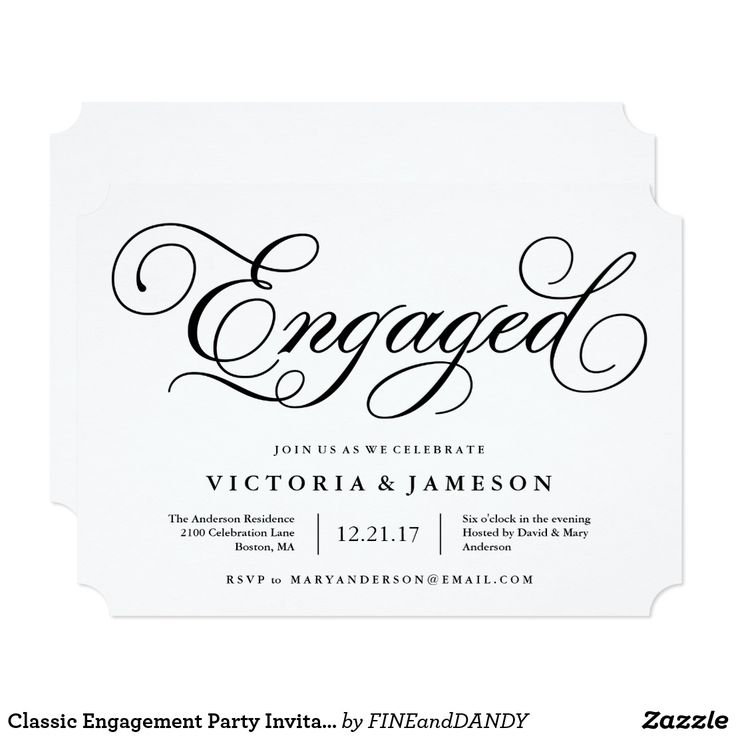 10 best Engagement Party Invitations images on Pinterest ...