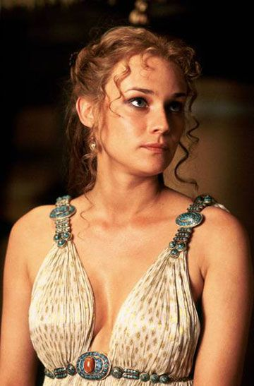 Love her dress. Diane Kruger as Helen of Troy.
