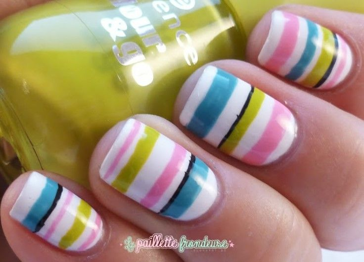 The 25 best striped nail designs ideas on pinterest striped the 25 best striped nail designs ideas on pinterest striped nail art simple nail designs and black makeup lines prinsesfo Images