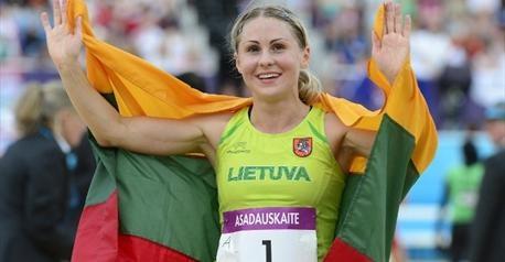 Laura Asadauskaite peut exulter. La Lituanienne devient championne olympique de pentathlon moderne et la dernière tête couronnée de ces Jeux 2012.