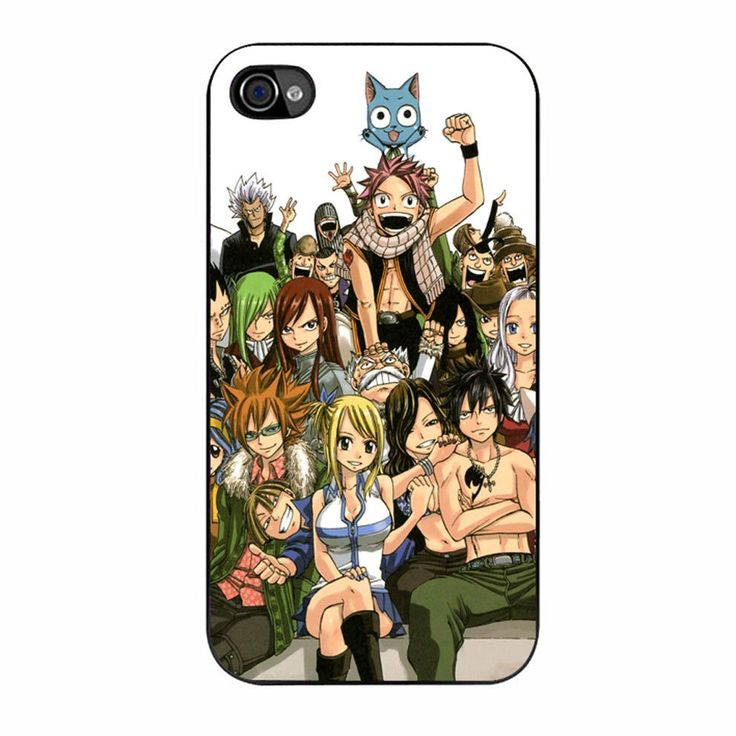 Fairy Tail Guild Members 2 iPhone 4/4s Case iPhone 4/4s Case are made of the highest quality blend of polymers to protect and defend your beloved phone, long-lasting design that you will be proud to s