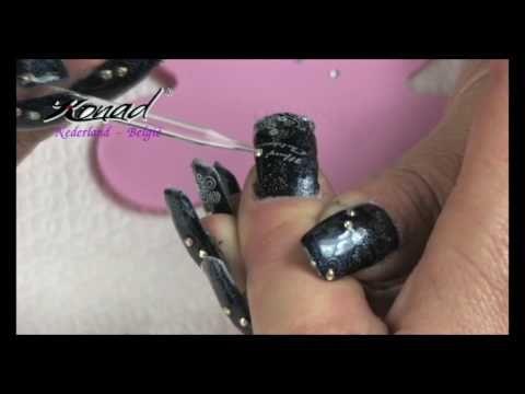 Filmpje Konad Nederland - Belgie ~ Snel en simpel nagels versieren