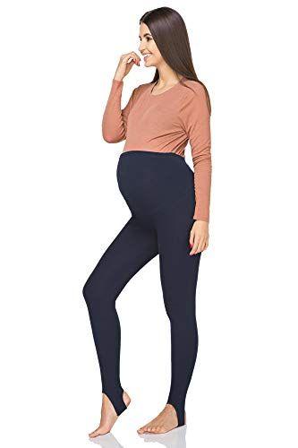 42110c08b5d05 Futuro Fashion Maternity Stirrup Winter Leggings Comfortable Support Soft  Tights with Fleece Lining PREG-LS: Amazon.co.uk: Clothing