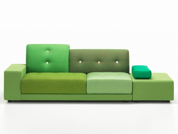 Hella Jongerius is commemorating the 10th birthday of the Vitra Polder Sofa by breathing new life into this successful, iconic design.