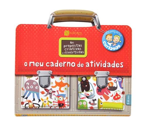 O meu caderno de atividades 5-6 Anos  - Atividades de educação pré-escolar em 60 jogos didáticos e criativos. 10.50€