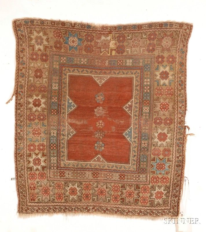 Melas Rug, Southwest Anatolia, second half 19th century,  4 ft. 8 in. x 4 ft.    | Skinner Auctioneers Sale 2436