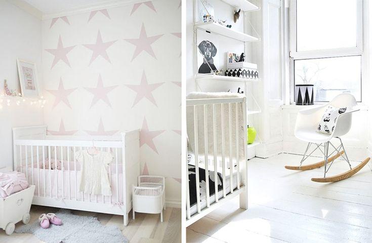 Photo 20 nursery deco scandinavian habitacion bebe for Deco habitacion bebe