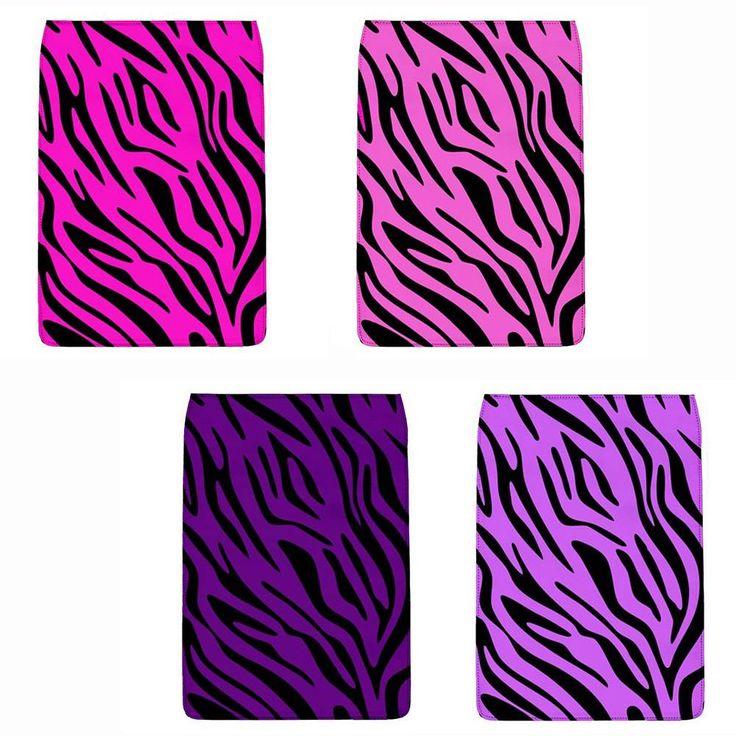 Pink OR Purple Zebra Stripes Removable Flap FOR Chameleon Shoulder BAG Regular   eBay