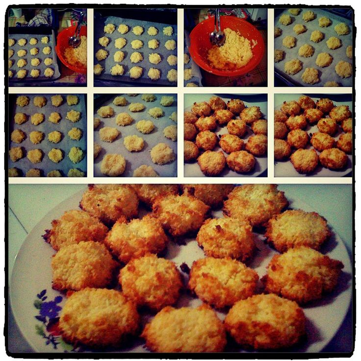 I Made Coconut Macaroons 2 months ago,,, and i wanna make it right now..I'm obsessed with it...