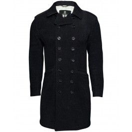 GREAT WOOL COAT (BLACK) available at www.designertop2bottom.com