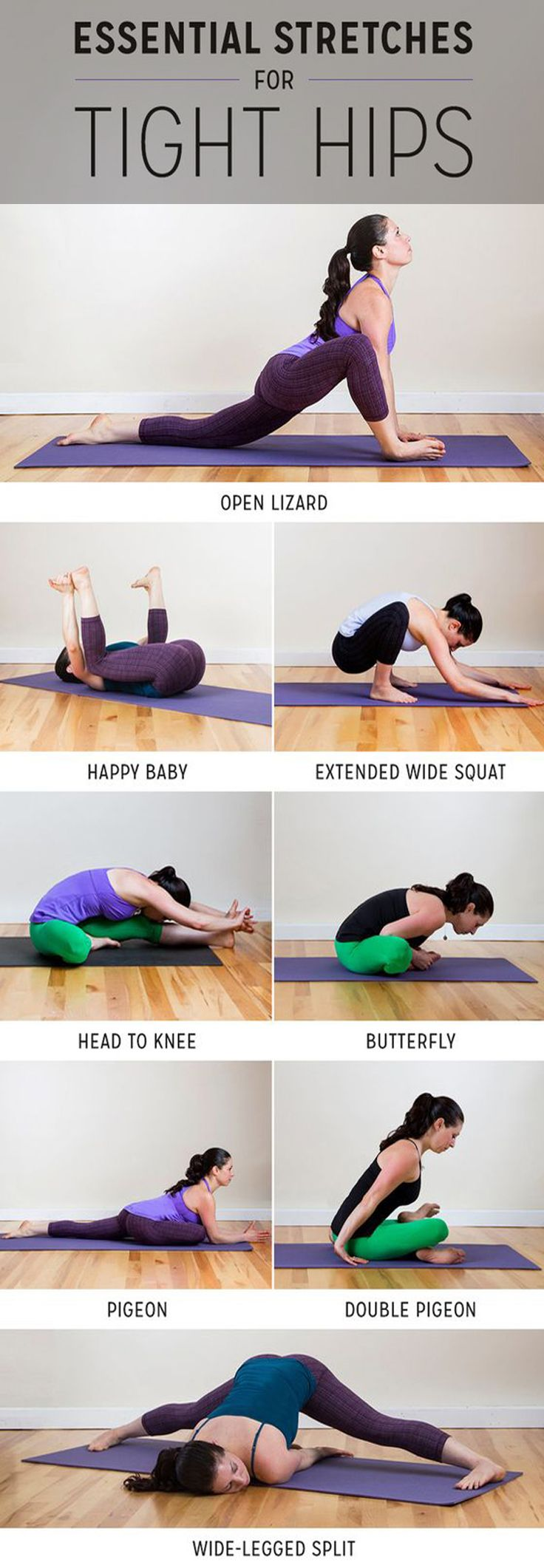 8 Stretches Your Tight Hips Are Begging For - Skinnyan