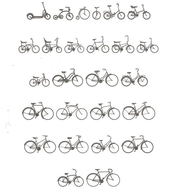 Knick of Time: Enjoy the Ride... {Free Bicycle Images to Use with the Silhouette}