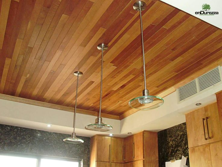 Recubrimiento en duela techo de madera house pinterest - Revestir pared con madera ...