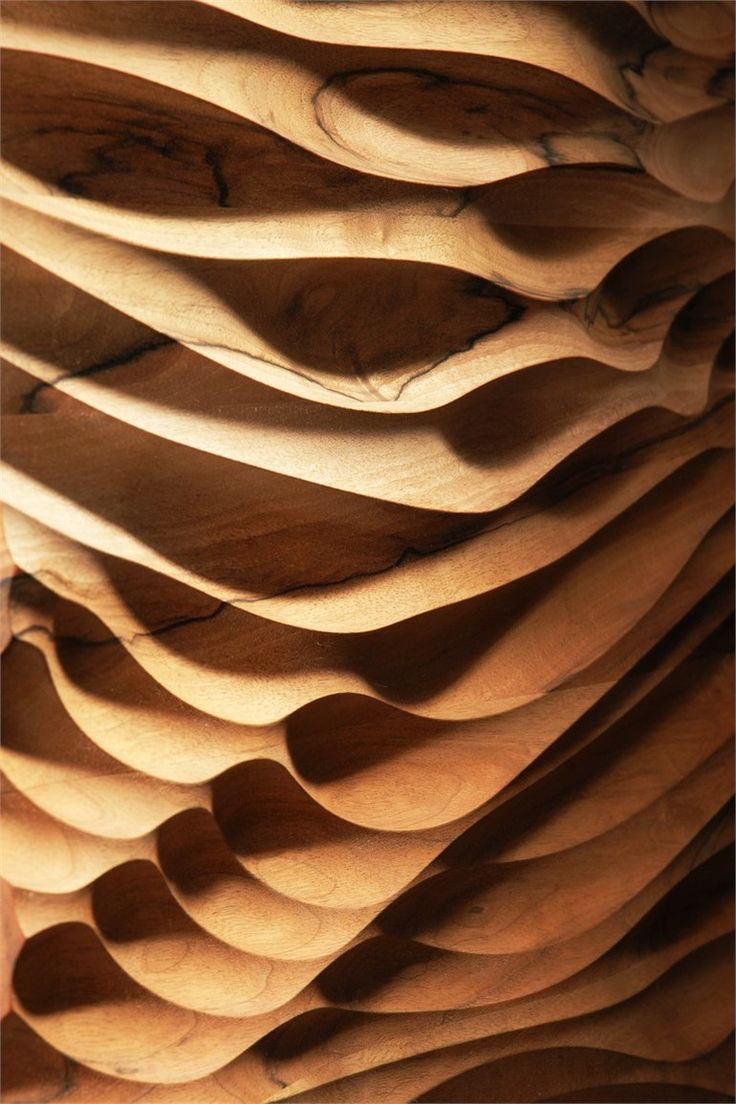 3D  Wall Panel - wood surface