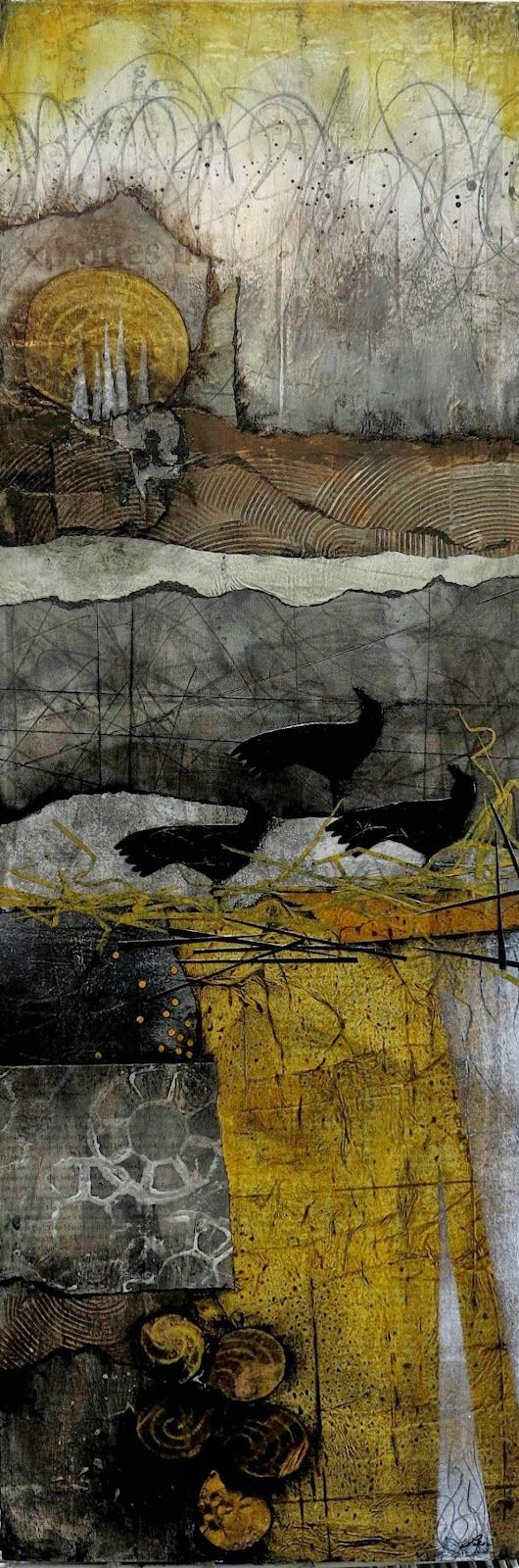 Collage art of Laura Lein-Svencner: Taking it even further....
