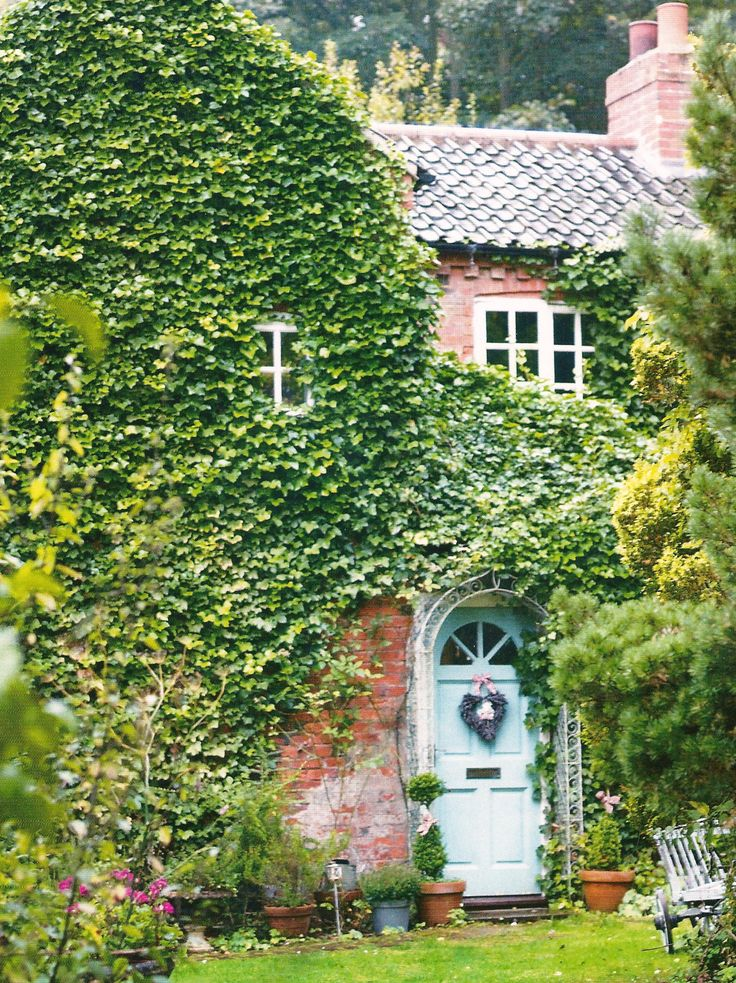 Ivy covered cottage!