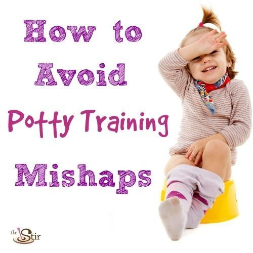 How to avoid potty training mishaps -- potty train in three days with this guide! http://thestir.cafemom.com/toddler/175771/potty_train_advice_toddler_toilet?utm_medium=sm&utm_source=pinterest&utm_content=thestir&newsletter