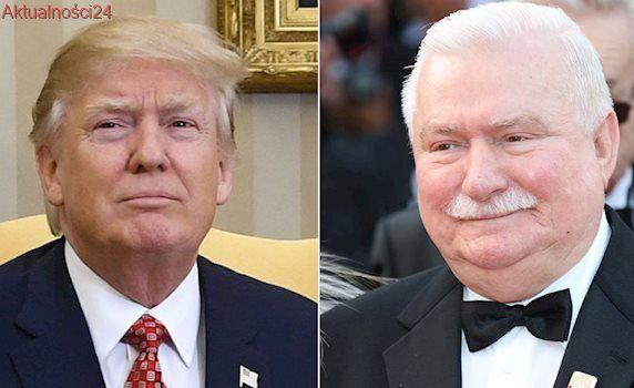 """Wałęsa o spotkaniu z Trumpem. """"Zameldowano mi, że wszystko jest załatwione"""""""
