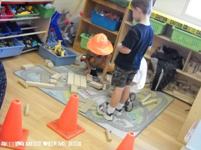Construction theme activities