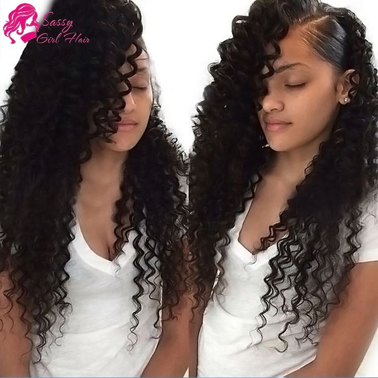 Brazilian Deep Wave Frontal Closure Sassy Girl Hair Brazilian Deep Curly Lace Front Closure Piece Ear To Ear Cheap Weave Online