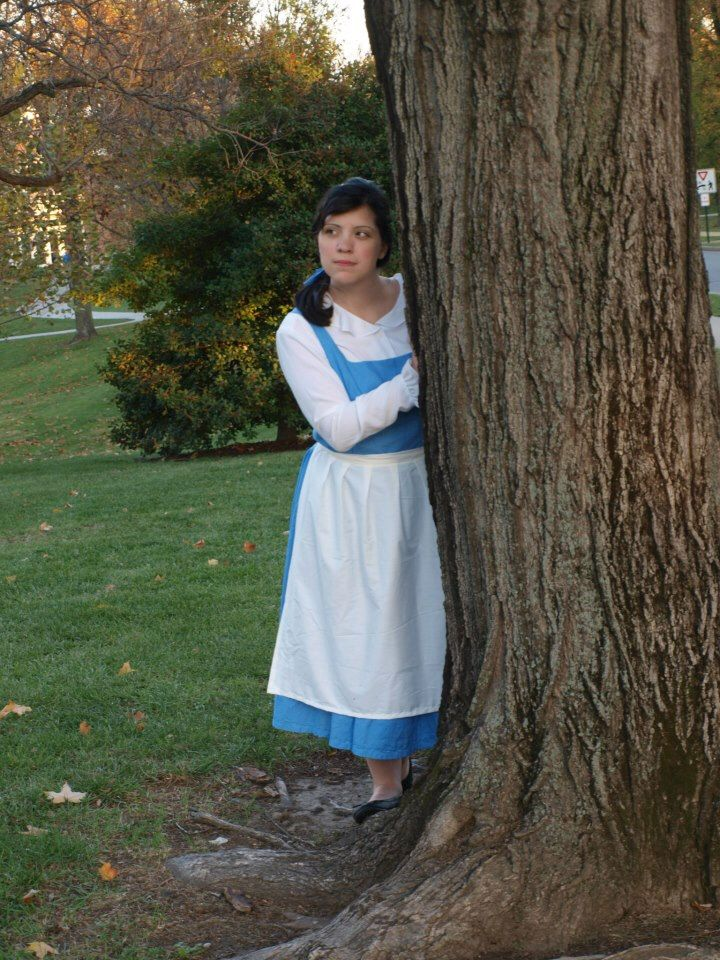 Belle's Blue Provincial Dress by AnAlternateReality on Etsy https://www.etsy.com/listing/185440974/belles-blue-provincial-dress