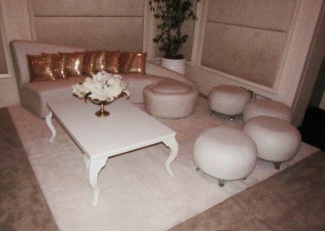 "Setting up ""lounge area"" in the O&O Ballroom. Photo credit: amateur photographer"