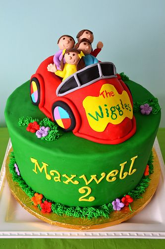 Wiggles Cake By Simply Sweet Creations (www.simplysweetonline.com)