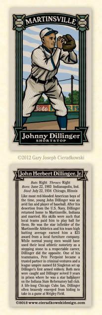 John Dillinger baseball card